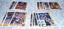 NBA Basketball Upper Deck 91 92 Card Lot of 20 UnCommon .25 to .50 list price
