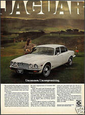 1978 Jaguar Xj6 White Sedan Car Photo Ad