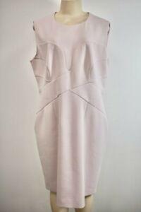 HUGO BOSS Pink Wool Fancy Evening/Cocktail Dress Size 16 US On Sale jl