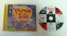 CD SOUNDTRACK - Disney's Phineas And Ferb Songs From The Hit Disney TV Series