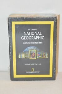 New/Sealed: The Complete National Geographic Every Issue Since 1888 DVD-ROM Set