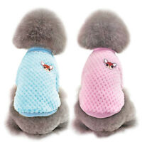 Dog Sweater Pet Puppy Winter Warm Clothes Cat Jumper Apparel Chihuahua Yorkie