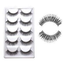 Sparse Cross Eye Lashes Extension Makeup Long False Eyelashes Party Makeup Hot