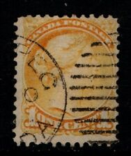 Canada 1870 1888 Queen Victoria 1c One Cent SG73 Sc35 Used