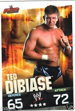 Slam Attax RAW - Ted DIBIASE