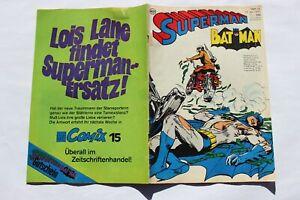 Superman und Batman Heft 14 von 1970 - EHAPA Verlag  Z1- *