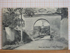 Fotokarte - Gars am Kamp - Altes Markttor - gel 1918 ab Unter-Plank   m3