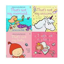 Thats Not My Girls Collection Touchy-Feely 4 Books Set Mermaid, Baby   Fiona Wat