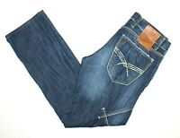 "Cipo & Baxx Men's Designer Denim Jeans Actual Size W34"" L32"""