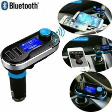 Car Kit Wireless Bluetooth FM Transmitter Radio MP3 Music Player With 2 USB Port