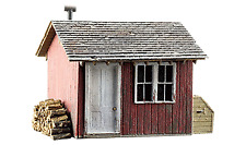 NEW Woodland Train Structure HO Scale Work Shed BR5057