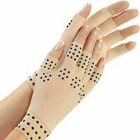 Therapeutische magnetische Anti-Arthritis-Therapie Fingerlose Handschuhe
