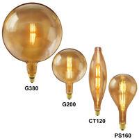 Vintage Industrial design edison bulb unique handmade wooden chuck table lamp