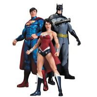 Justice League Trinity Guerra Action Figure New 52 Dc Collectibles