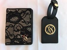 NWT Victoria's Secret~Authentic Travel Set~Passport Cover~Name/Luggage Tag