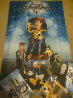 Kingdom Hearts III Fabric Poster Gamestop Exclusive Bonus KH 3 KH3 Wall Scroll