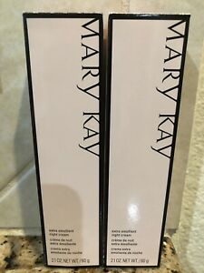 Mary Kay Extra Emollient Night Cream  2.1 oz / 60g (2 PACK)  NEW!