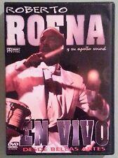 roberto roena y su apollo sound EN VIVO desde bellas artes  DVD