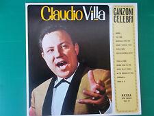 LP CLAUDIO VILLA CANZONI CELEBRI VOLUME 3 NUOVISSIMO LOOK
