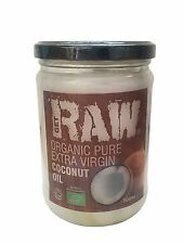 ORGANIC Coconut Oil - Pure Extra Virgin Cold Pressed - 500ml - GET RAW