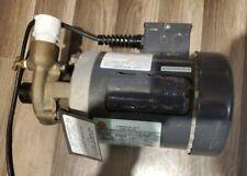 Scot industrial Motor pump 1/3 Hp motor 50 -60 Hz p-100 1.25 x 1 Imp 250 Eu01