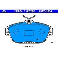 Disc Brake Pad Front ATE EU634