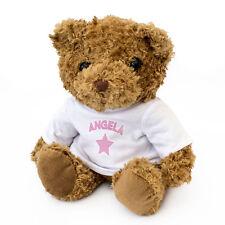NEW - ANGELA - Teddy Bear - Cute And Cuddly - Gift Present Birthday Xmas