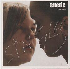 SUEDE -Singles- Album Sampler Promo CD Brett Anderson