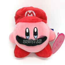 """Kirby with Mario Hat 4"""" Plush Doll"""