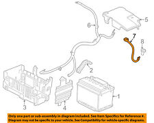 Buick GM OEM 12-17 Verano Battery-Negative Cable 13363864