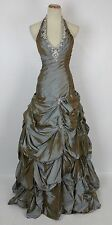 NEW Paparazzi Mori Lee Copper $500 Size 6 Prom Ball Long New Formal Gown Cruise