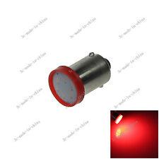 1X Red BA9S 57 W6W 1 COB LED License Plate Light Map Bulb Dome Lamp 12v 20059