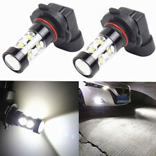 9005 HB3 9145 H10 6000K 50W LED Cree Projector Fog Driving Light Bulb HID White