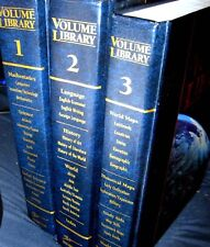 THE VOLUME LIBRARY-Modern-Authoritative Reference-2004-3 VOLUMES-SOUTHWESTERN