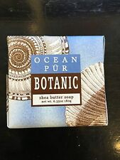 GREENWICH BAY SOAP COMPANY/ NEW OCEAN PUR BOTANIC SHEA BUTTER SOAP 6.35OZ