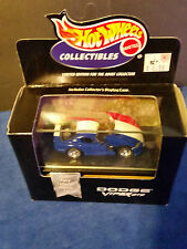 1998 HOT WHEELS COLLECTIBLES  -  DODGE VIPER GTS Red,White,& Blue