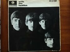 BEATLES With The Beatles LP Vinyl Album Mono 2nd Pressing PMC 1206 All My Loving