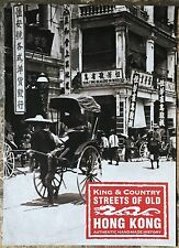 King & Country 2016 Leaflet Streets of Old Hong Kong 8 Pages
