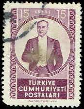 Scott # 1066 - 1952 - ' Kemal Ataturk '