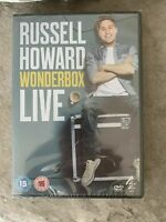 Russell Howard Wonderbox Live DVD Brand New Sealed. 6867441048091 comedy standup
