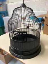 Black Vintage Bird Cage