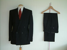"1940's STYLE SUIT..GOODWOOD..TWIN PLEATS..PTU's..HIGH WAISTED..38""x 32""..DEMOB"