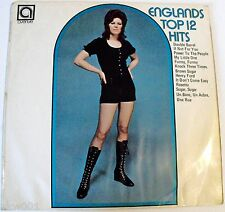 ALAN CADDY ENGLAND'S TOP 12 HITS Vol 17 1971 Avenue Records Model on Cover.RARE