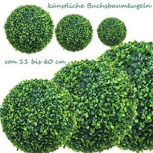 (CLASSIC) Buchsbaumkugel Buchsbaumkugeln künstlich Kugel frostfest wie echt NEU