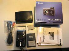 Canon PowerShot SX210 IS 14.1MP Digitalkamera - Schwarz