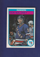 Don Maloney 1982-83 O-PEE-CHEE OPC Hockey #229 (NM+) New York Rangers