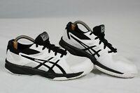 ASICS Upcourt 3 GS 1074A005 Tennis Shoes, Big Kid's Size 5.5, Black/White