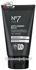 No7 MEN ANTI AGEING AGING SENSITIVE BALM 50ML