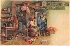 Walddorf Germany Home Interior Antique Postcard J42102