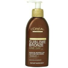 L'Oreal Sublime Bronze One Day Tinted Gel 150ml/Caramel/Wash/Off/Tan/Instant/NEW